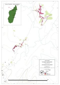 Synthèse des réseaux kastique d'Anjohibe / Madagascar